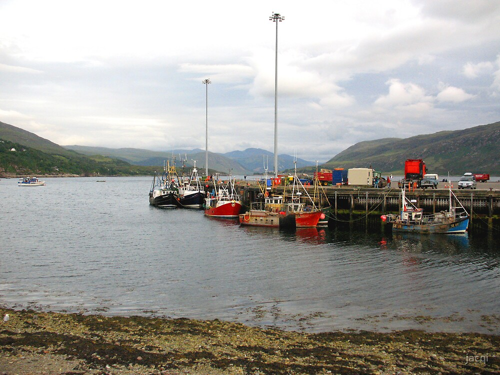 The Harbour Ullapool by jacqi