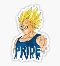 Vegeta Pride  Sticker