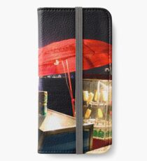 CHINA OF THE LIGHT : The red parasol iPhone Wallet