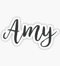 Amy   First Name Sticker