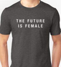 The Future Is Female (white) Unisex T-Shirt