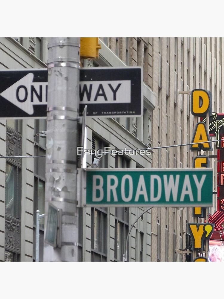 New York Straßenschilder von FangFeatures