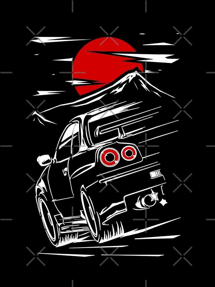 Nissan Skyline GTR 34 | Haruna by w1gger