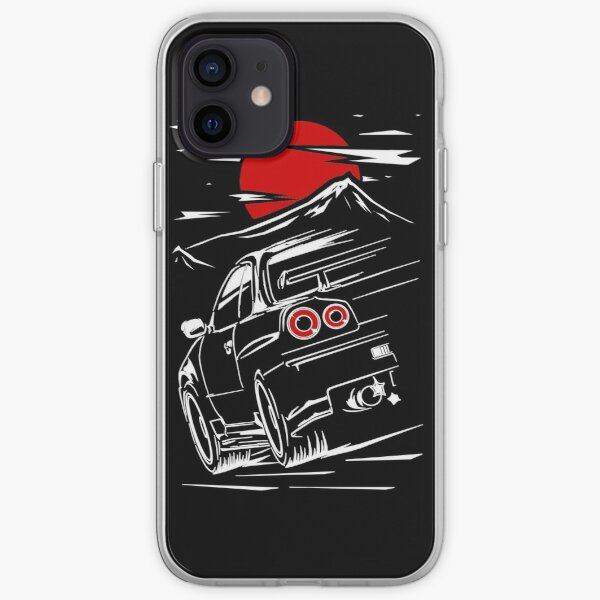 Nissan Skyline GTR 34 | Haruna iPhone Soft Case