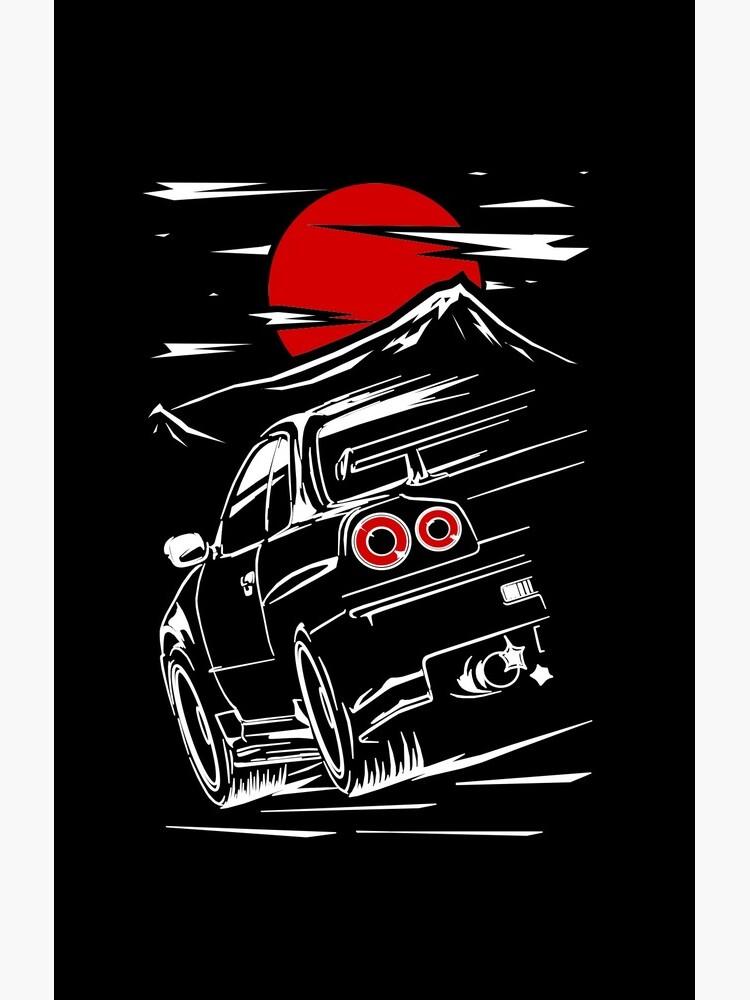 Nissan Skyline GTR 34   Haruna by w1gger