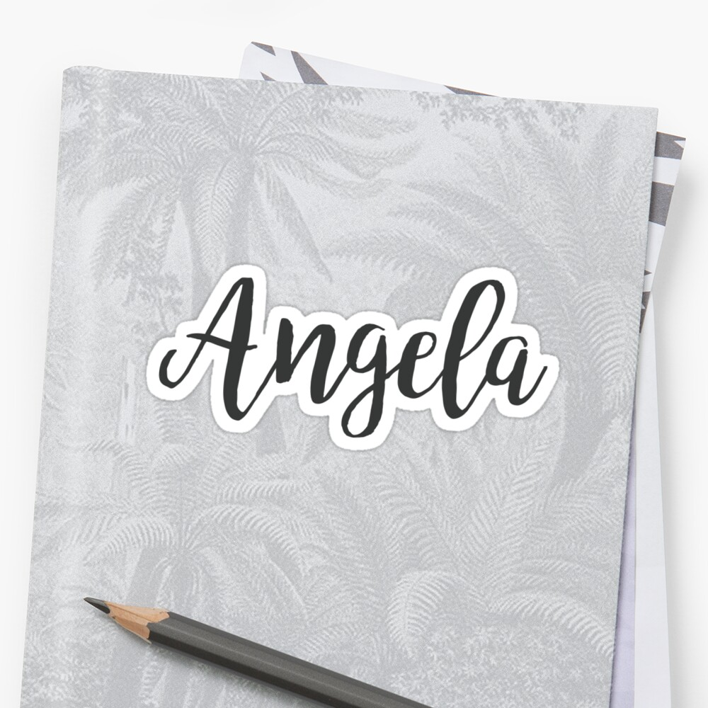 Angela | First Names by koovox