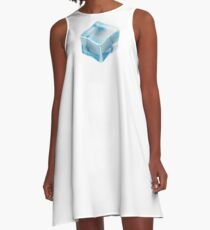 COOL, ICE, CUBE, FREEZE, FREEZING, COLD A-Line Dress
