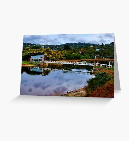"""The Erskine Estuary"" Greeting Card"
