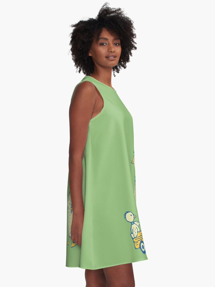 Alternate view of Daddy Duck A-Line Dress