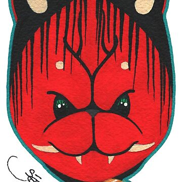 Lucky Oni Cat by SadoStyle
