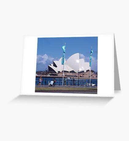 Shiny Sunny Sydney Greeting Card