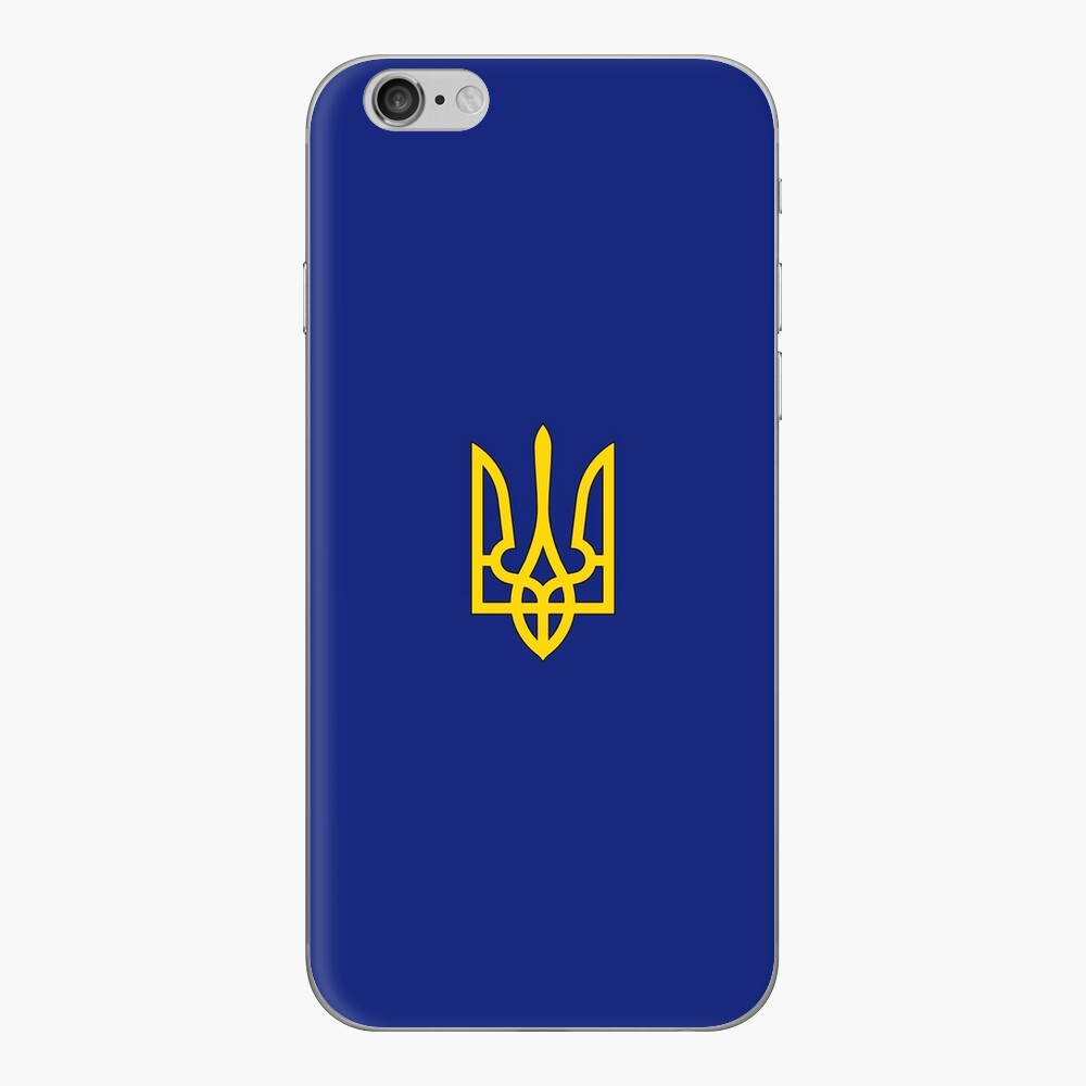 Ukraine iPhone Klebefolie