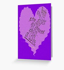 ~ Dance of LOVE ~ Greeting Card