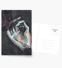 Muladhara - Root chakra mudra  Postcards