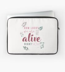 How Lucky We Are! Laptop Sleeve