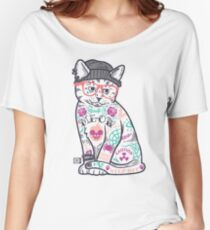 "Cats Put the ""Me"" in MEOW Women's Relaxed Fit T-Shirt"