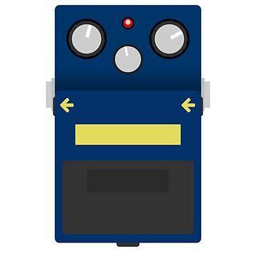 Blues Drive Pedal by d13design