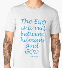 The EGOS veil... Rumi Men's Premium T-Shirt