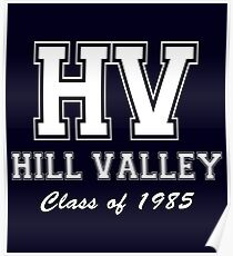 Hill Valley High School Poster
