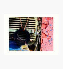 Farm machinery 3 Art Print
