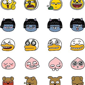 KakaoTalk Friends Face Edition (카카오톡) by icdeadpixels