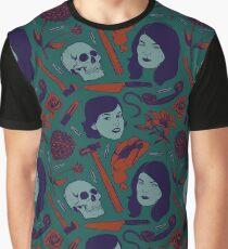 MFM-Color Murderino Pattern Graphic T-Shirt