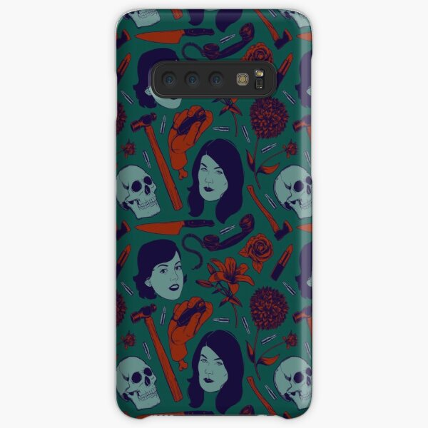 Vintage Color True Crime Pattern Samsung Galaxy Snap Case