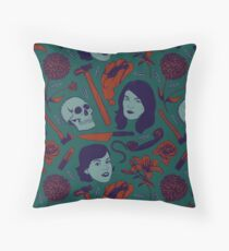 MFM-Color Murderino Pattern Throw Pillow