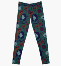 MFM-Color Murderino Pattern Leggings