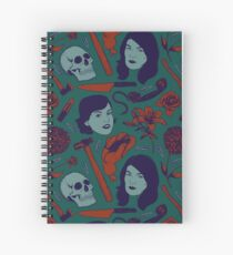 MFM-Color Murderino Pattern Spiral Notebook