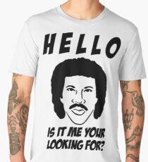 Hello Lionel Richie Men's Premium T-Shirt