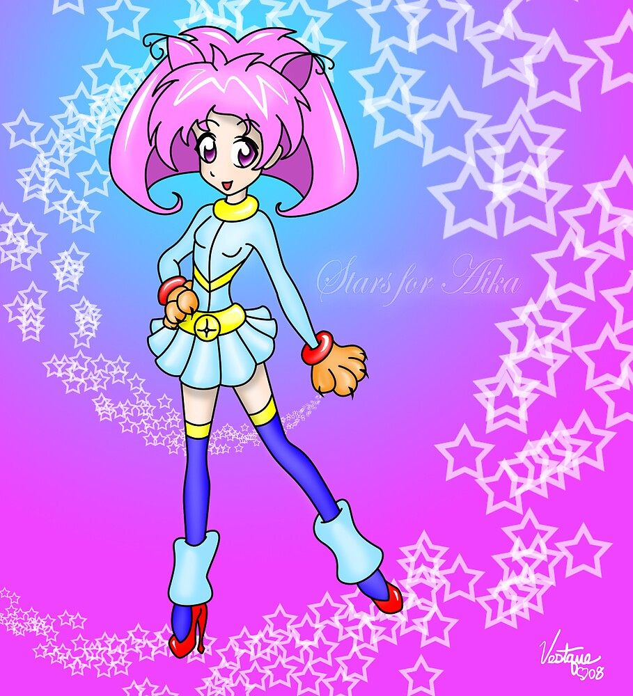Stars for Aika: Super Aika! by Vestque