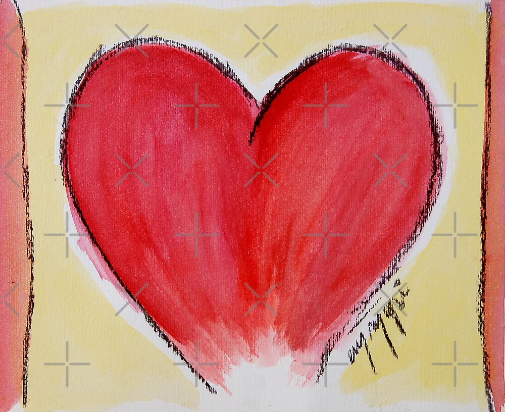 simply red heart by monica palermo