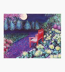 The Moon Seat Photographic Print