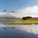 Ben Loyal. Lochan Hakel Mists. Tongue, Sutherland. Northern Scotland. by PhotosEcosse