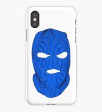 Blue Ski Mask iPhone Case/Skin