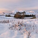 North West Geopark. Drumrunie. Inverpolly Winter Scene. Highlands of Scotland by PhotosEcosse