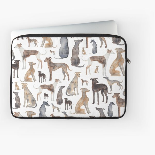 Greyhounds, Wippets and Lurcher Dogs! Laptop Sleeve