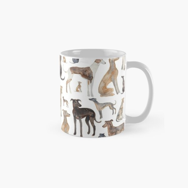 Greyhounds, Wippets and Lurcher Dogs! Classic Mug