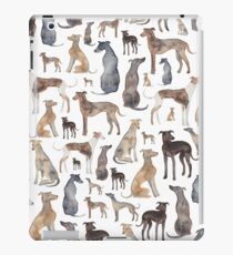 Vinilo o funda para iPad Greyhounds, Wippets y Lurcher Dogs