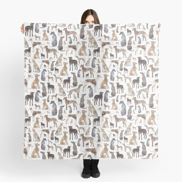 Greyhounds, Wippets and Lurcher Dogs! Scarf