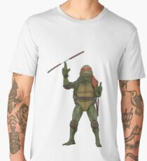 TMNT 90's Mike Men's Premium T-Shirt