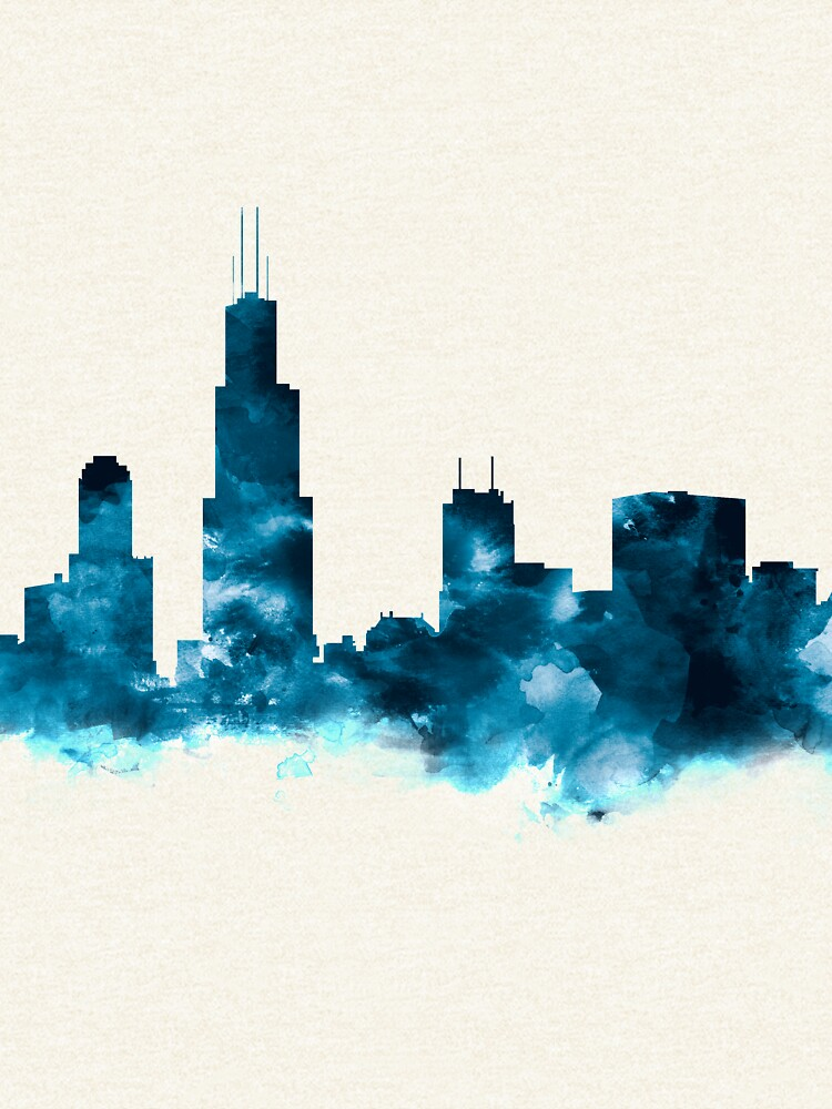 Chicago Skyline von MonnPrint