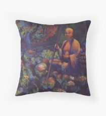 Guarding the Spirits of Lost Children Throw Pillow