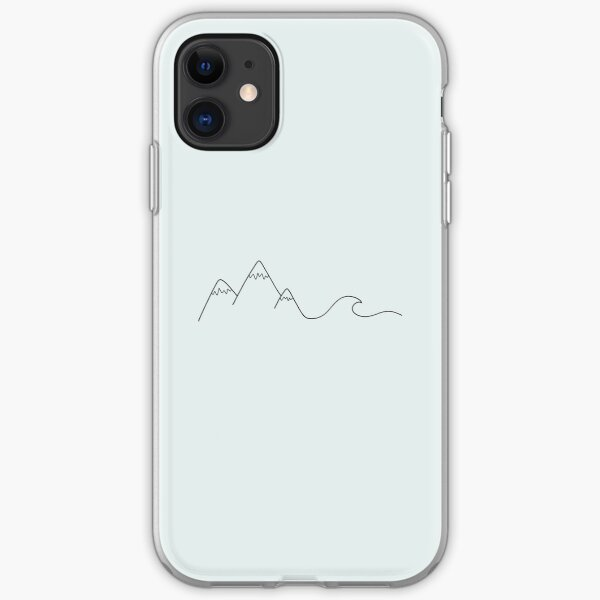 Mountain Wave iPhone Soft Case