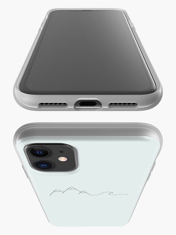 Alternate view of Mountain Wave iPhone Case & Cover