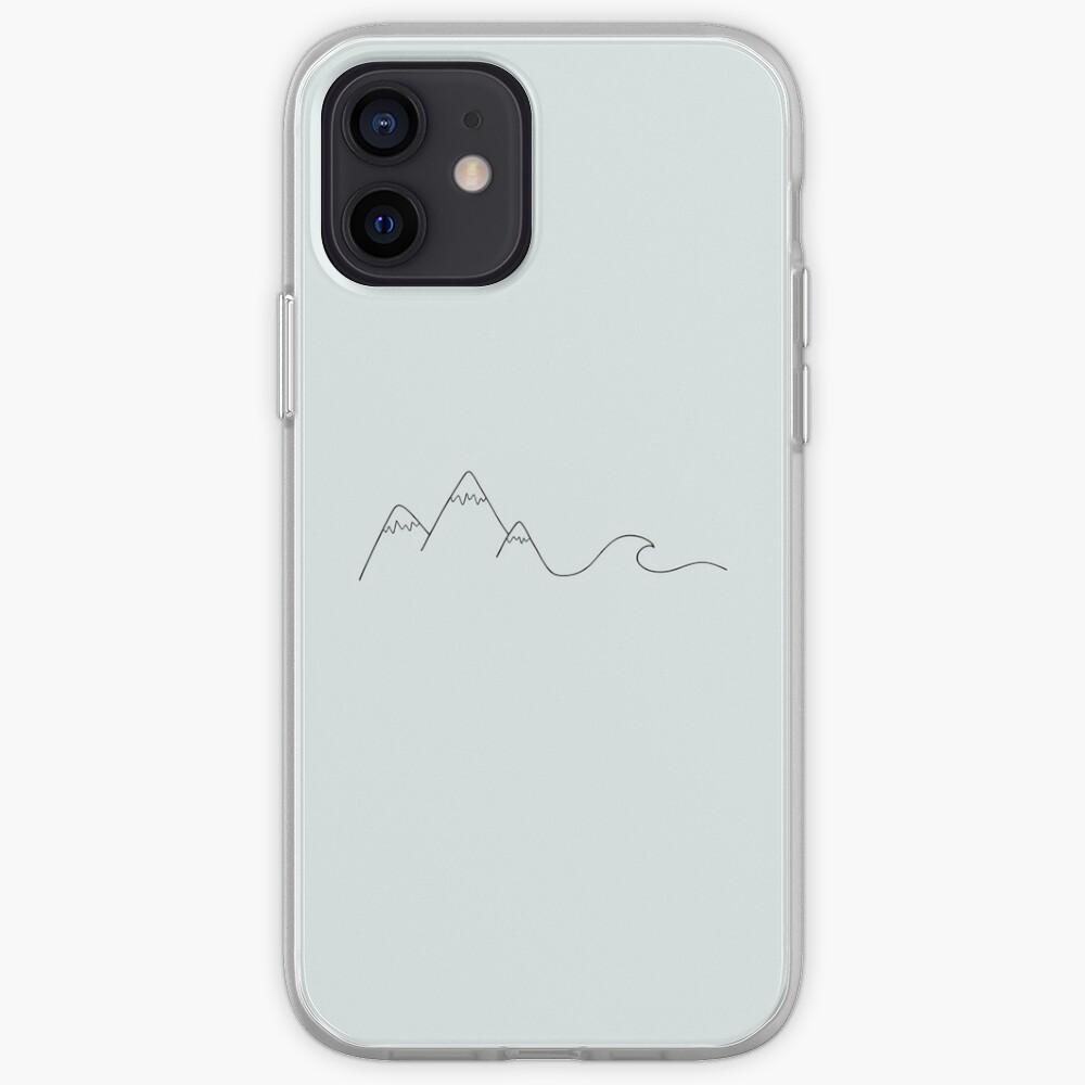 Ola de montaña Funda y vinilo para iPhone