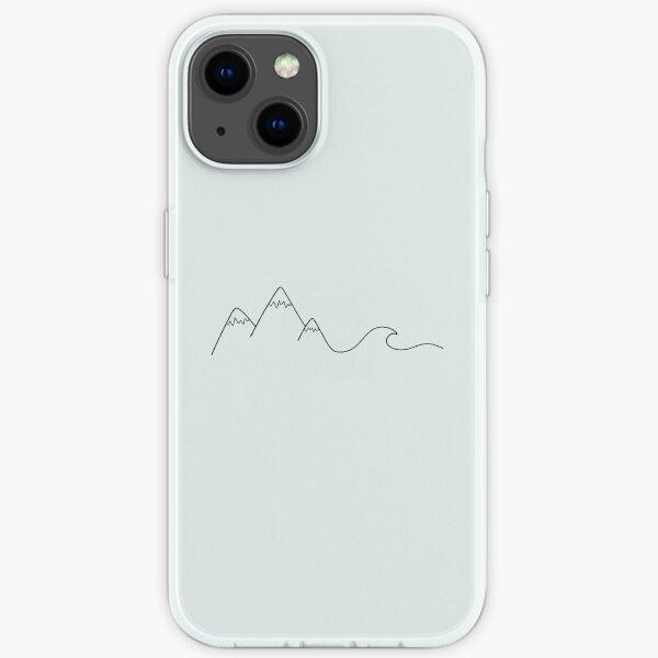 Bergwelle iPhone Flexible Hülle