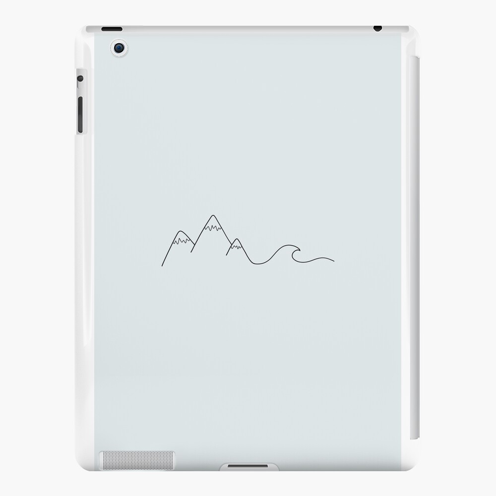 Mountain Wave iPad Cases & Skins