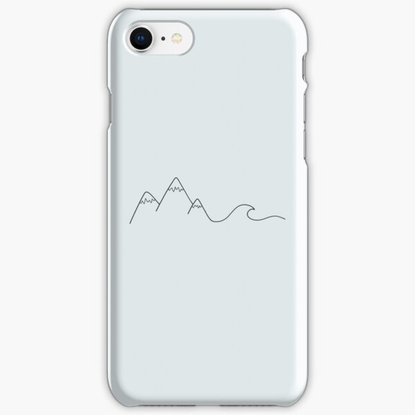 Mountain Wave iPhone Snap Case